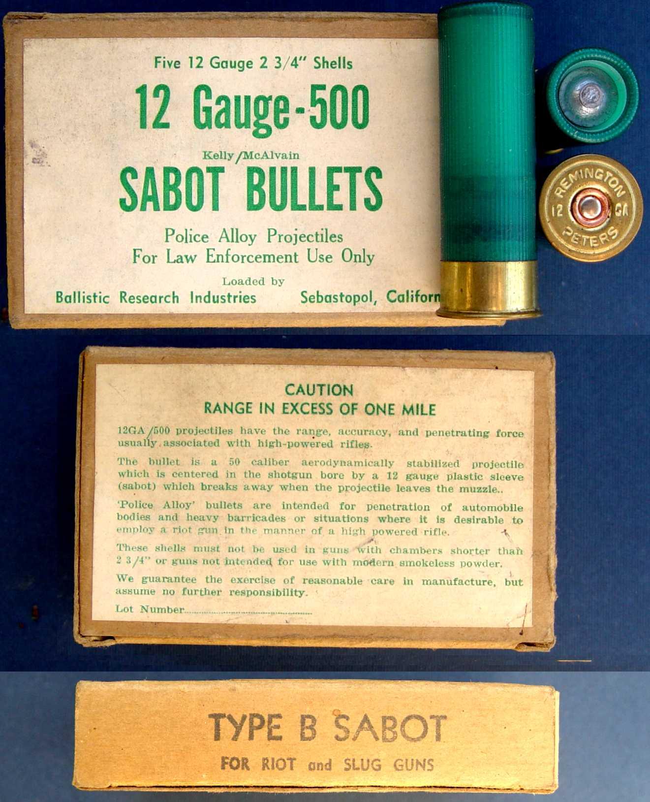 Bullets of Gualandi 12 caliber: description, characteristics and application
