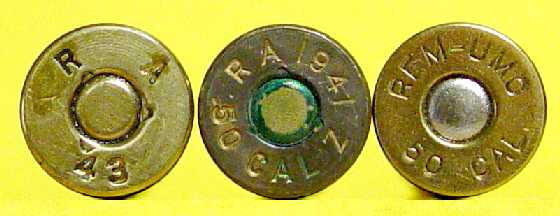 50 cal bmg headstamps ww2 and earlier general ammunition